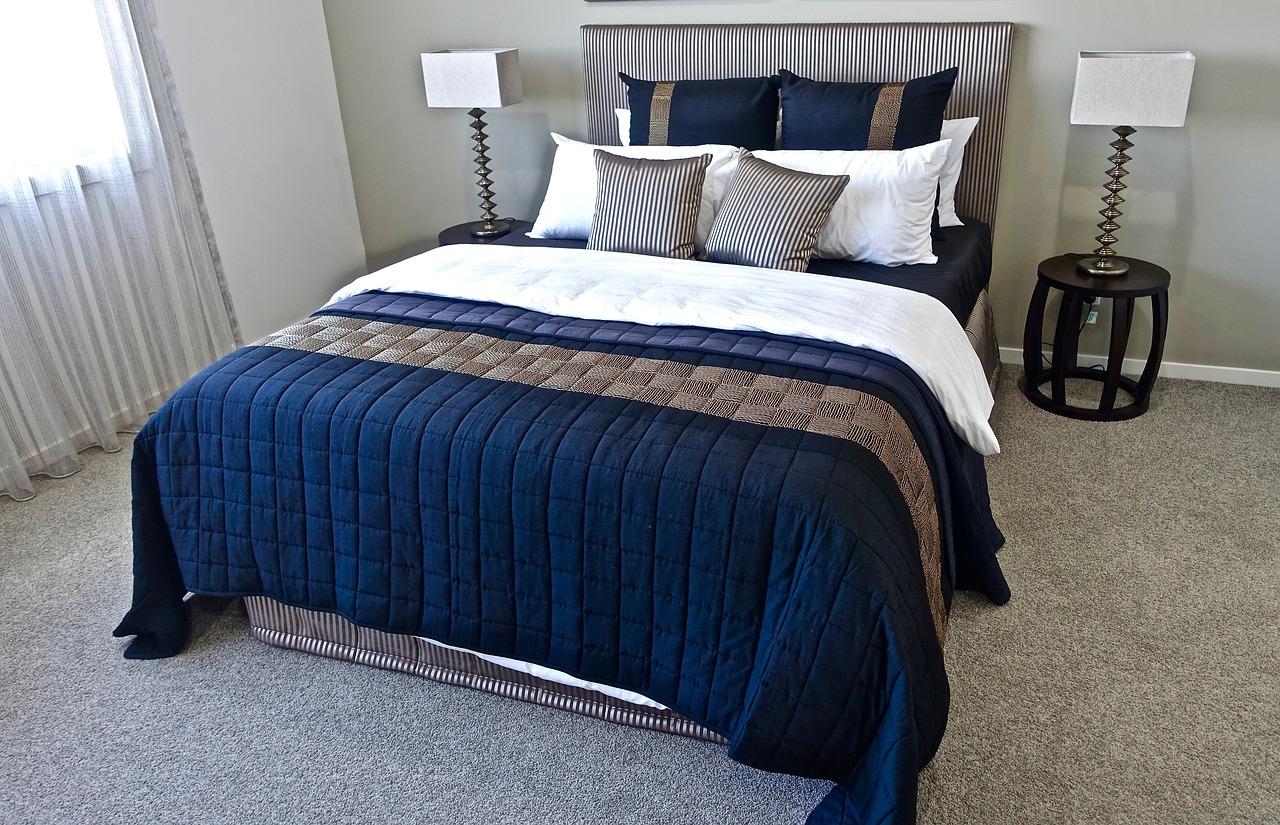 Säng och sängkläder